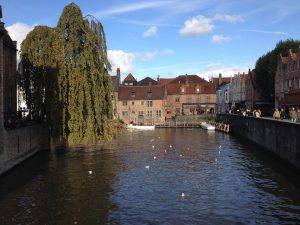 Brugge - the canal