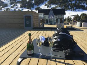Christmas day at the top of the mountain