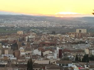 View from Hotel Alhambra Palace