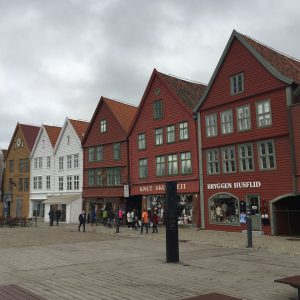 Old Houses - Old Bergen Wharf