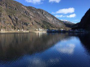 Village on the fjord