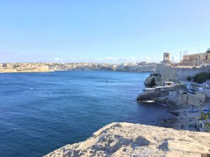 Malta from the harbour