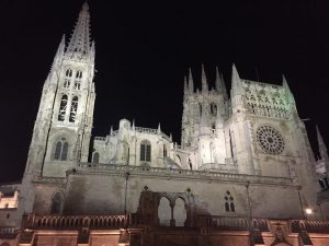 The gate to the city of Burgos